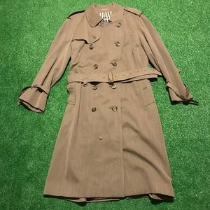 Vintage Burberry's Nova Check Long Trench Coat